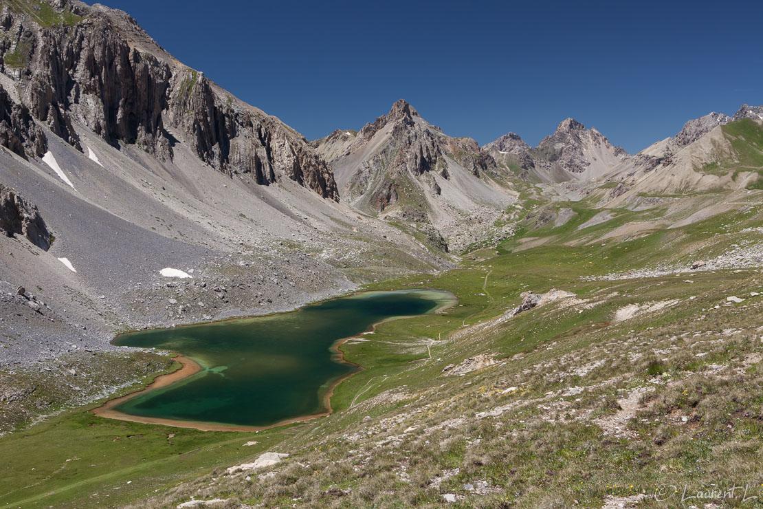 "Eté sur le lac de l'Orrenaye     1/60 s à f/9,0 - 100 ISO - 40 mm     07/07/2016 - 13:51     44°25'49"" N 6°55'38"" E     2496 m"